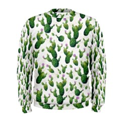Cactus Pattern Men s Sweatshirt