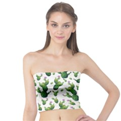 Cactus Pattern Tube Top