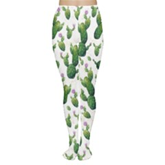 Cactus Pattern Women s Tights