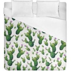 Cactus Pattern Duvet Cover (king Size)