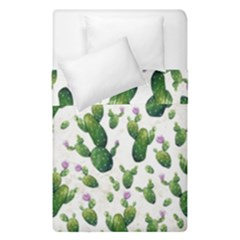 Cactus Pattern Duvet Cover Double Side (single Size)
