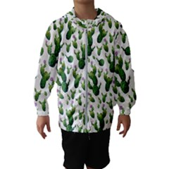 Cactus Pattern Hooded Windbreaker (kids)