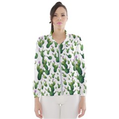 Cactus Pattern Windbreaker (women)