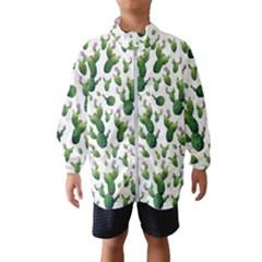 Cactus Pattern Windbreaker (kids)