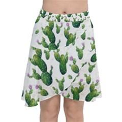 Cactus Pattern Chiffon Wrap
