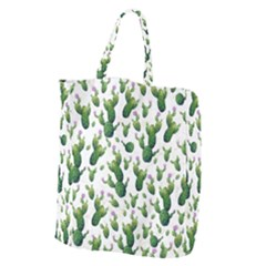 Cactus Pattern Giant Grocery Tote