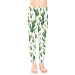 Cactus Pattern Kids  Legging