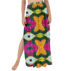 Artwork By Patrick Colorful 2 3 Maxi Chiffon Tie Up Sarong