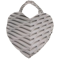 Backround Pattern Texture Dimension Giant Heart Shaped Tote