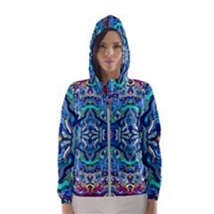 Colorful 2 4 Hooded Windbreaker (women)
