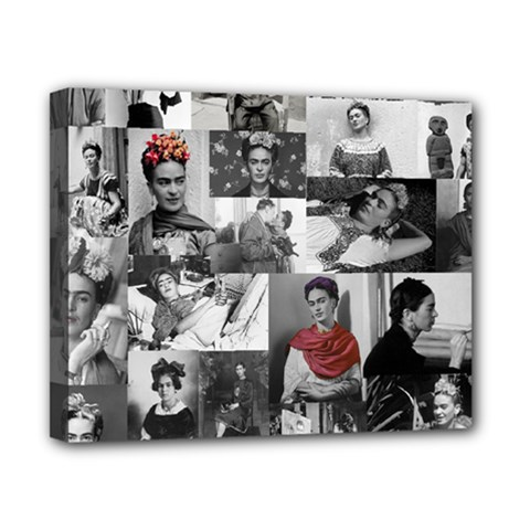 Frida Kahlo Pattern Canvas 10  X 8