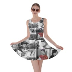 Frida Kahlo Pattern Skater Dress