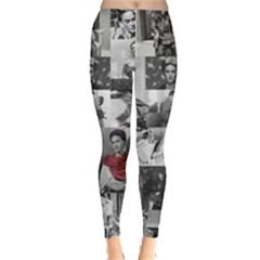 Frida Kahlo Pattern Leggings