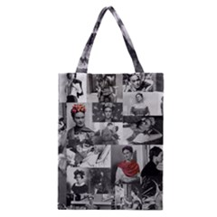 Frida Kahlo Pattern Classic Tote Bag