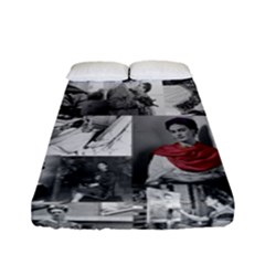 Frida Kahlo Pattern Fitted Sheet (full/ Double Size)