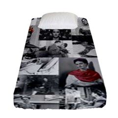 Frida Kahlo Pattern Fitted Sheet (single Size)