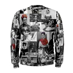 Frida Kahlo Pattern Men s Sweatshirt