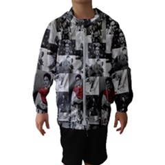 Frida Kahlo Pattern Hooded Windbreaker (kids)