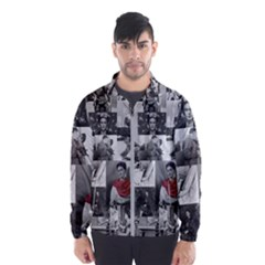 Frida Kahlo Pattern Windbreaker (men)