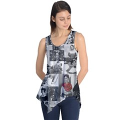 Frida Kahlo Pattern Sleeveless Tunic