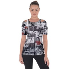 Frida Kahlo Pattern Short Sleeve Top