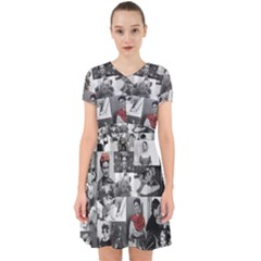 Frida Kahlo Pattern Adorable In Chiffon Dress