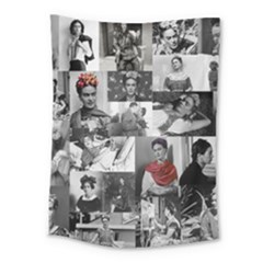 Frida Kahlo Pattern Medium Tapestry