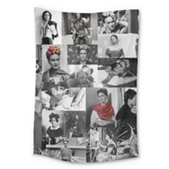 Frida Kahlo Pattern Large Tapestry