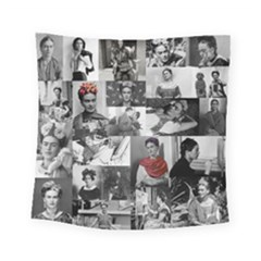 Frida Kahlo Pattern Square Tapestry (small)