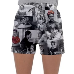 Frida Kahlo Pattern Sleepwear Shorts