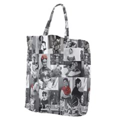 Frida Kahlo Pattern Giant Grocery Tote