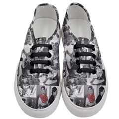 Frida Kahlo Pattern Women s Classic Low Top Sneakers