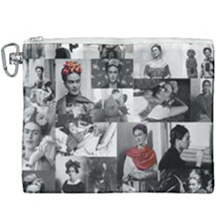 Frida Kahlo Pattern Canvas Cosmetic Bag (xxxl)