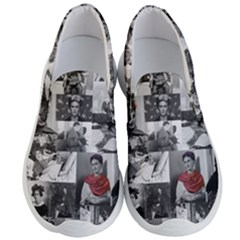 Frida Kahlo Pattern Men s Lightweight Slip Ons