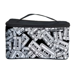 Audio Tape Pattern Cosmetic Storage Case