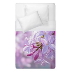 Pink Lilac Flowers Duvet Cover (single Size) by FunnyCow