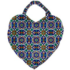 1 2 C Giant Heart Shaped Tote