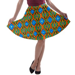Artworkbypatrick1 3 A Line Skater Skirt by ArtworkByPatrick1