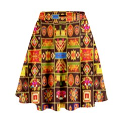 Artworkbypatrick1 6 1 High Waist Skirt