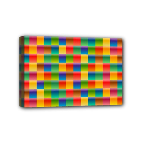 Background Colorful Abstract Mini Canvas 6  X 4