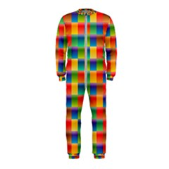 Background Colorful Abstract Onepiece Jumpsuit (kids)
