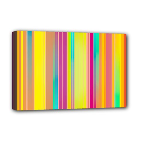 Background Colorful Abstract Deluxe Canvas 18  X 12