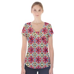 Artworkbypatrick1 13 1 Short Sleeve Front Detail Top