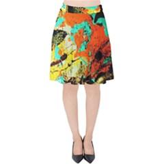 428252604002397 428252204002437 428252564002401 428252527335738 Velvet High Waist Skirt