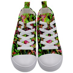 Spring Ornaments 1 Kid s Mid Top Canvas Sneakers