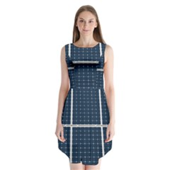 Solar Power Panel Sleeveless Chiffon Dress   by FunnyCow