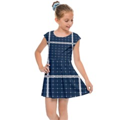 Solar Power Panel Kids Cap Sleeve Dress by FunnyCow