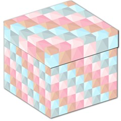 Abstract Pattern Background Pastel Storage Stool 12