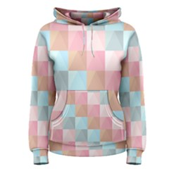 Abstract Pattern Background Pastel Women s Pullover Hoodie