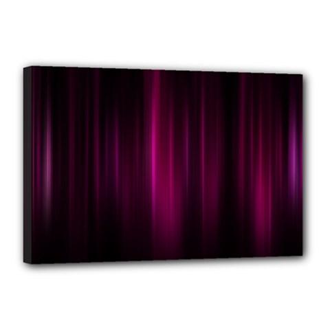 Theater Cinema Curtain Stripes Canvas 18  X 12